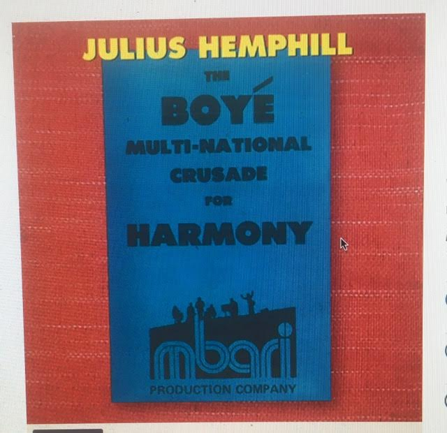 The Boye Multi-National Crusade for Harmony - Archival Recordings [1977-2007] [7 CD Set]